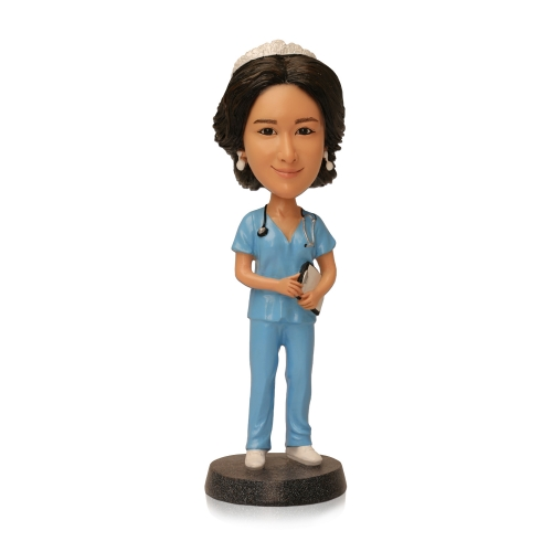 women doctor bobbleheads