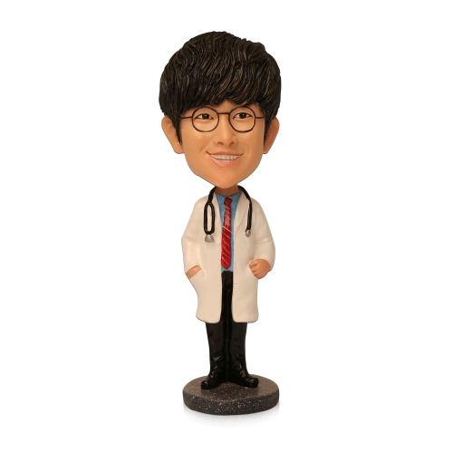 doctor bobble head
