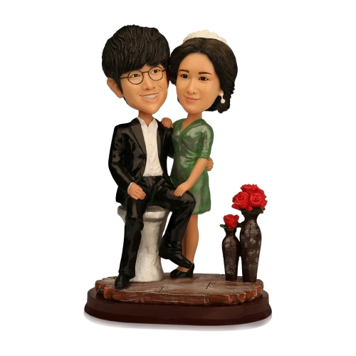 cartoon cake topper