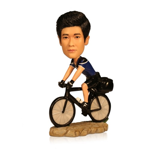 custom bike rider sportsman bobbleheads suppliers
