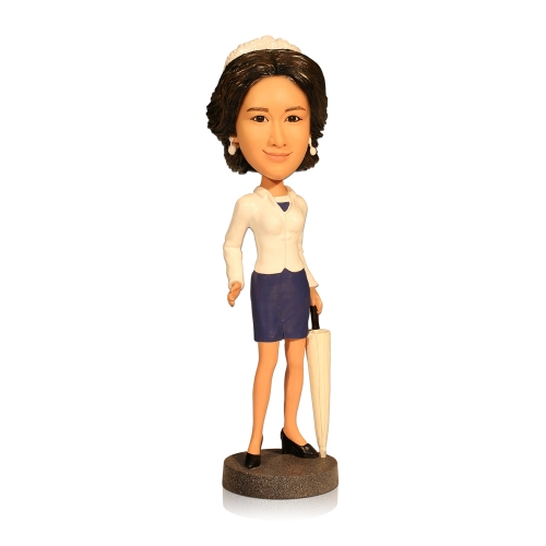 Fashional Bobble Head