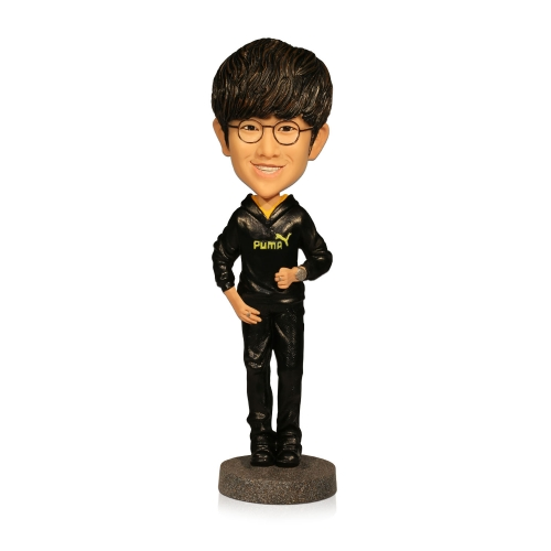 casual men bobblehead