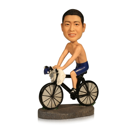 Bicycle Racers bobbleheds