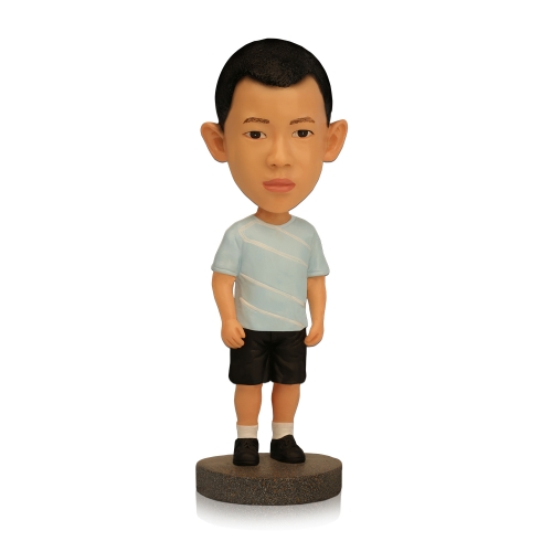 polyresin kid bobblehead