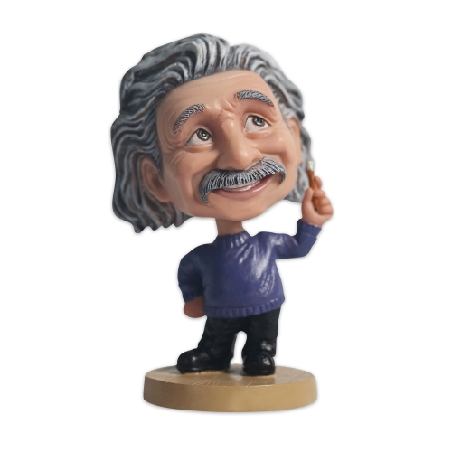 Albert Einstein with pencil bobblehead suppliers