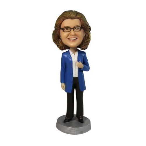 business women bobble head doll