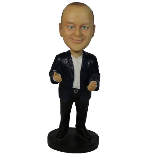 office man bobble head