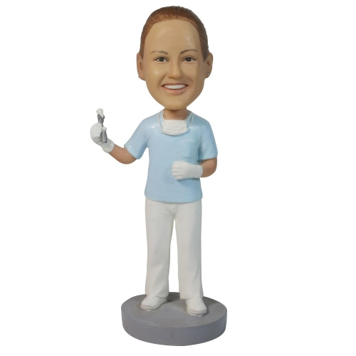 dentist bobble head