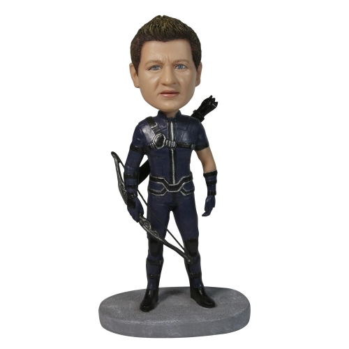 Hawkeye  Clinton Francis Barton Bobble Head