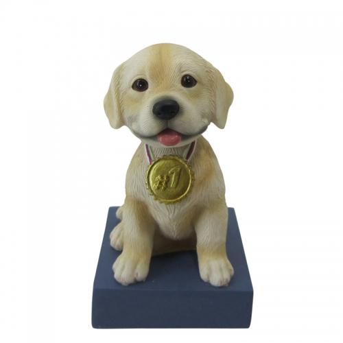 pet dog bobble head