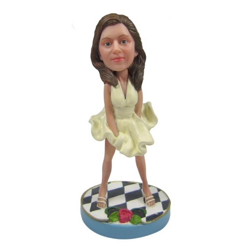 film person bobble head
