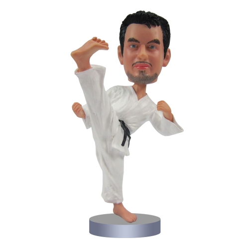 Taekwondo bobble head