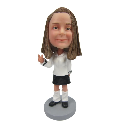 small girl bobblehead