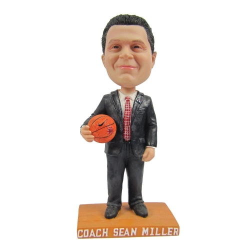 basketball coach bobble head