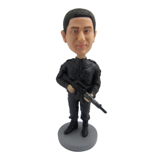 soldier bobble head