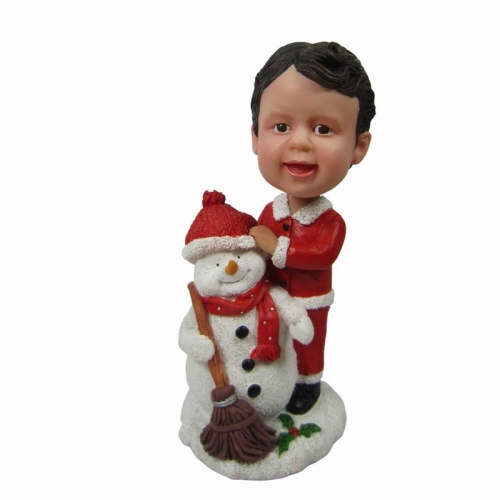 boy christmas bobblehead