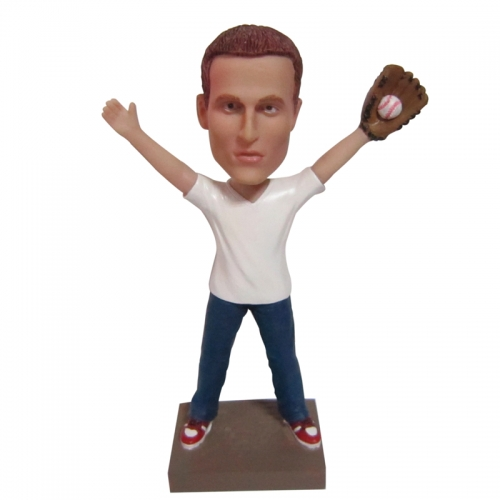 baseball bobble head