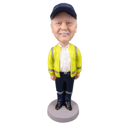 Construction Engineer bobble head