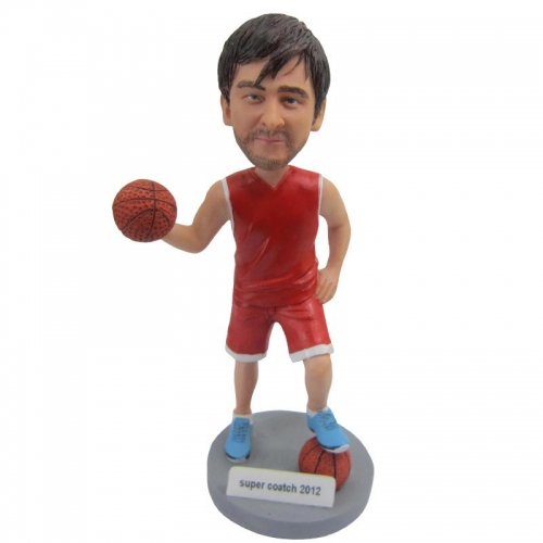 basketball player bobble head doll